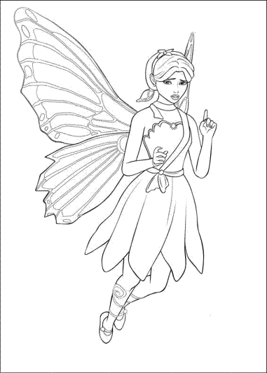 barbie-doll-coloring-pages