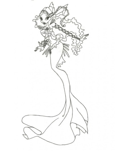 barbie-mermaid-coloring-pages