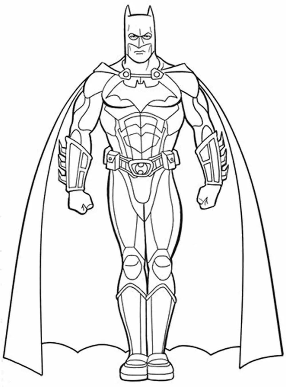 Coloring Page Of Batman
