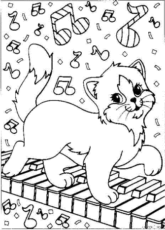 christmas-cat-coloring-pages