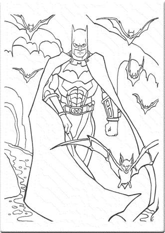 coloring-page-batman