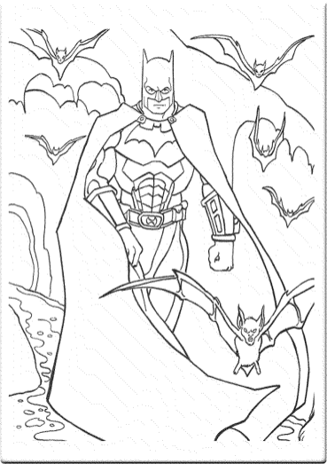 coloring-page-batman