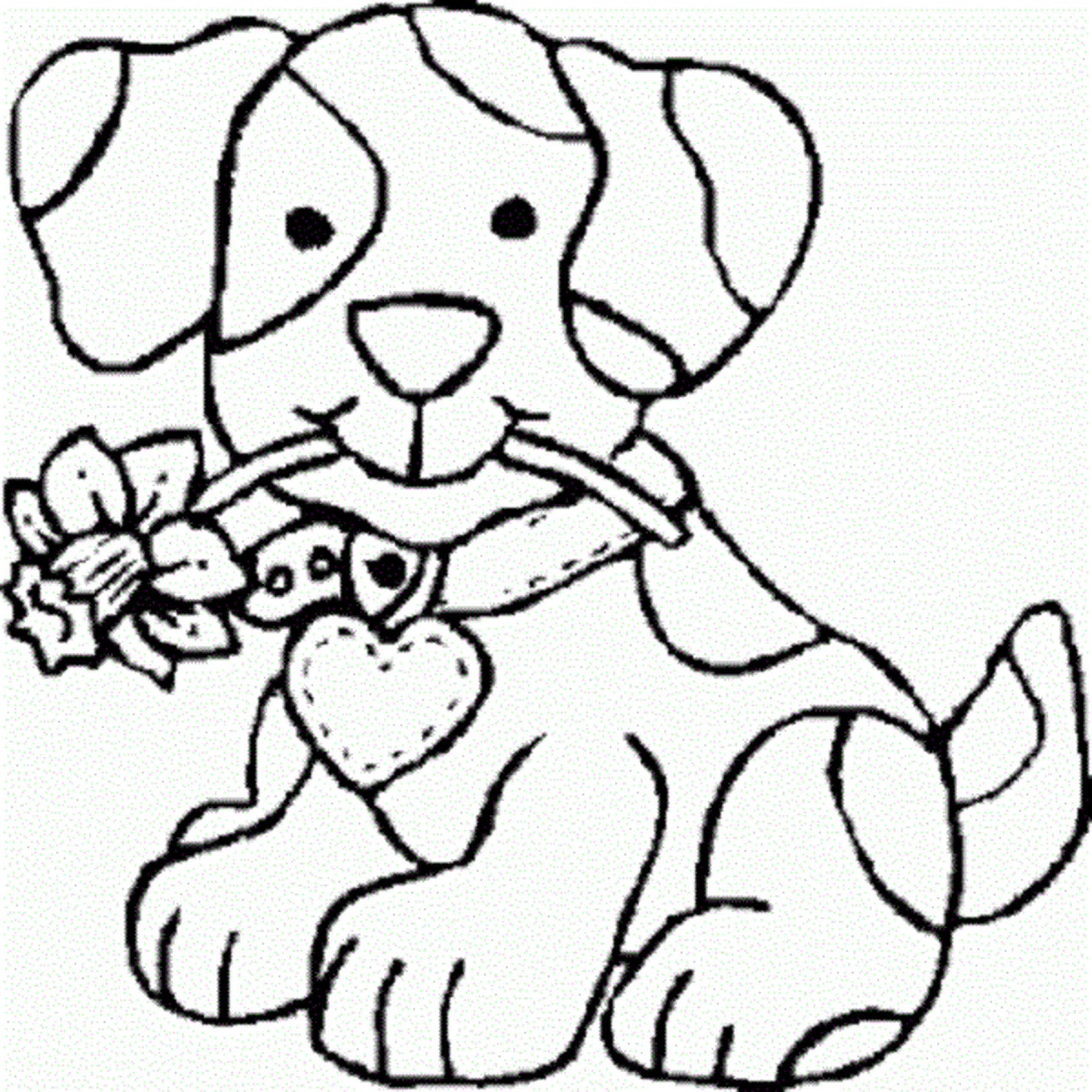 Coloring Pages For Teenage Girls Dog Cute