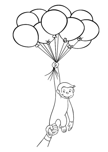 curious-george-with-balloons-coloring-pages