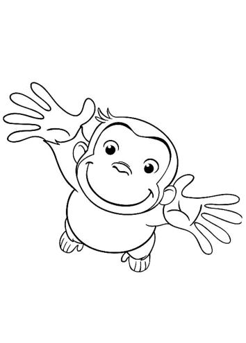 cute-curious-george-coloring-pages
