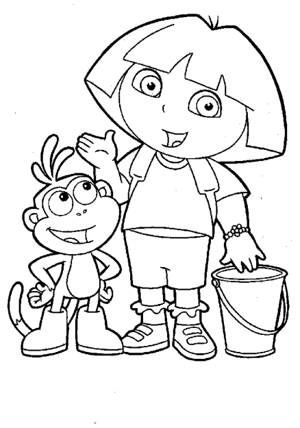 dora-coloring-pages-printable