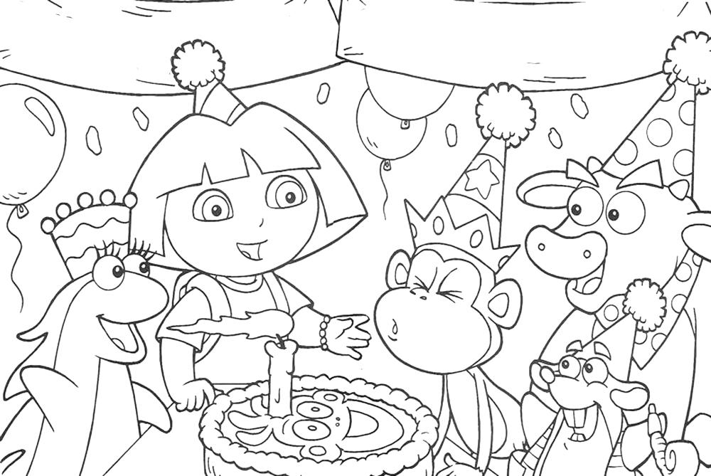 dora-the-explorer-happy-birthday-coloring-pages-all