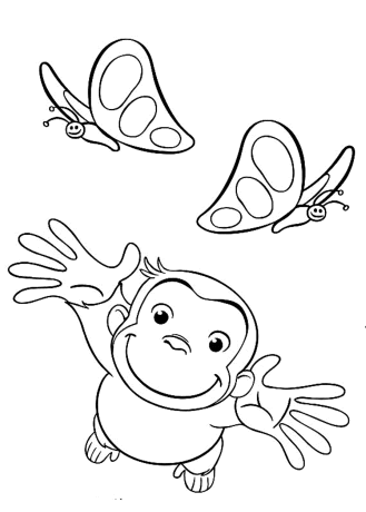free-curious-george-coloring-pages