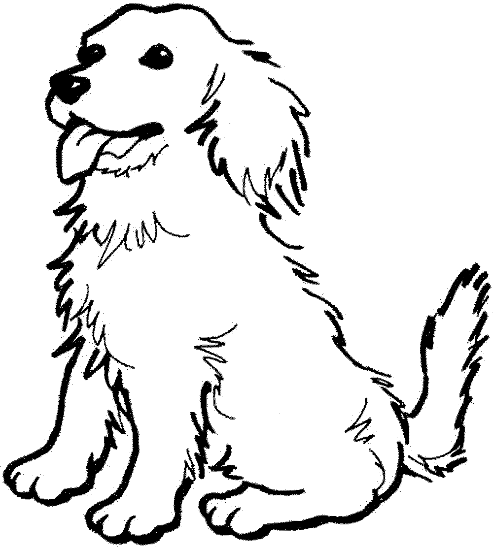 Employ Dog Coloring Pages for Your Children\'s Creative Time