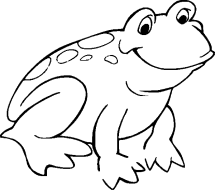 Print amp Download Frog Coloring Pages Theme for Kids