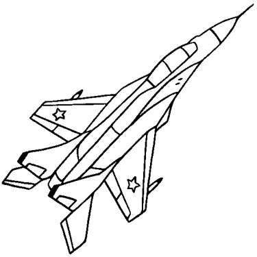 jet-airplane-coloring-pages