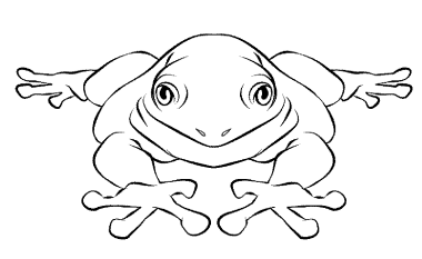 jumping-frog-coloring-pages