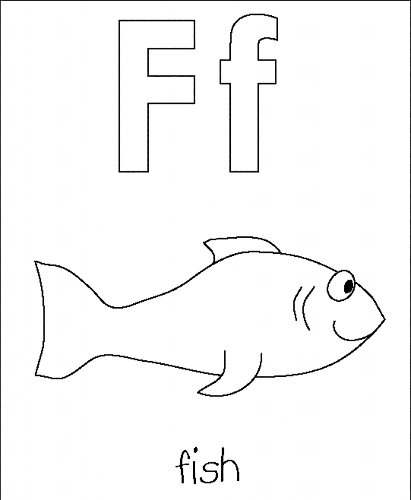 letter-F-Fish-coloring-pages-for-preschoolers