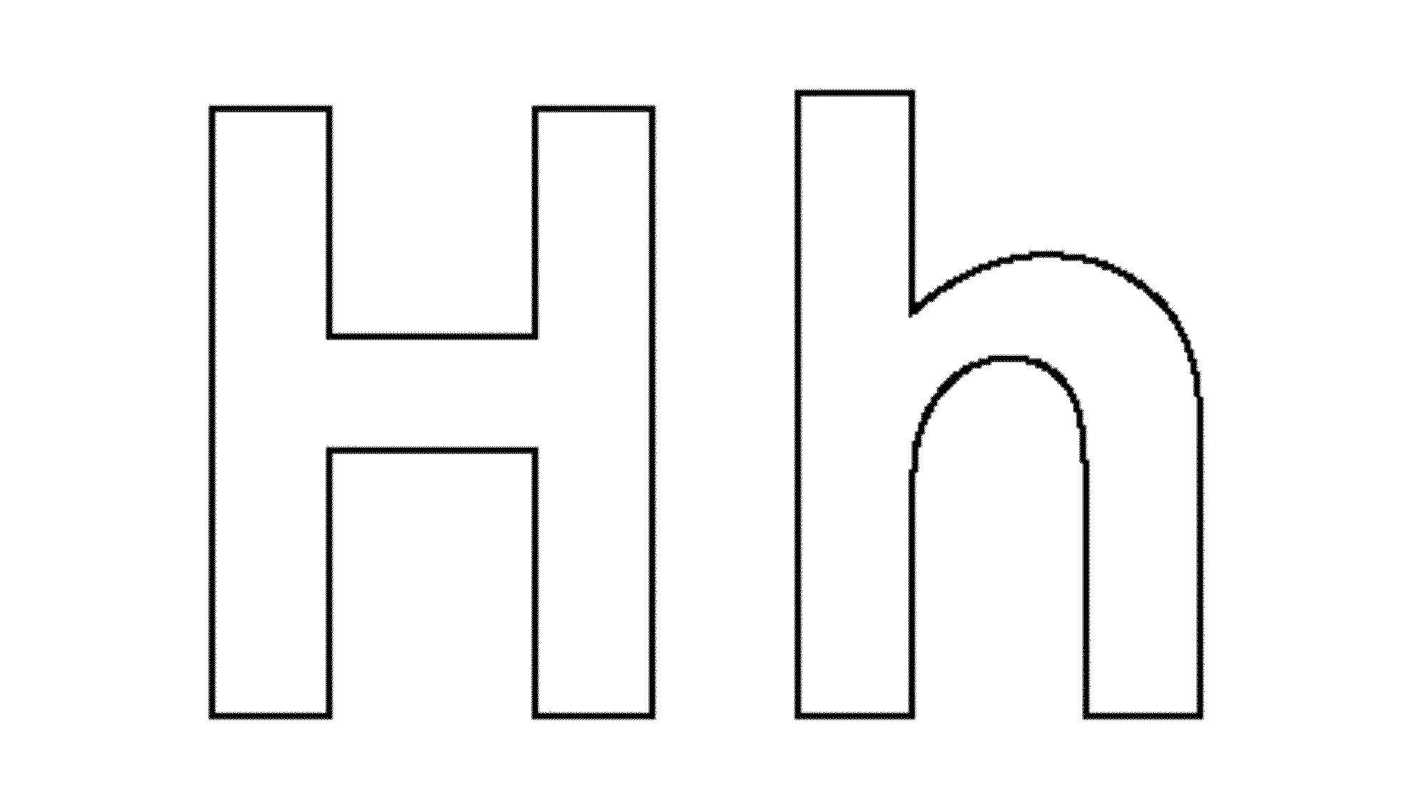 Letter H Coloring Pages Alphabet