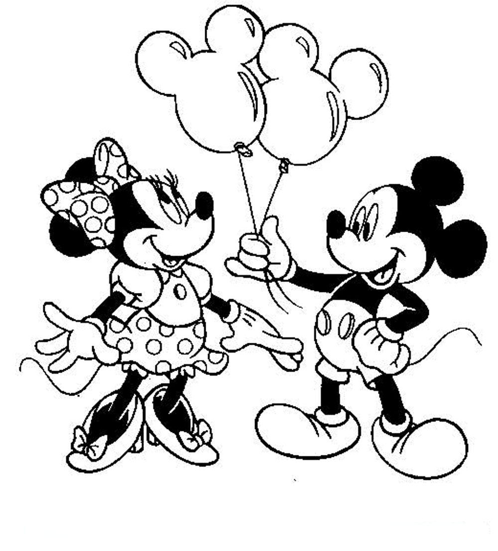 Print & Download - Free Minnie Mouse Coloring Pages