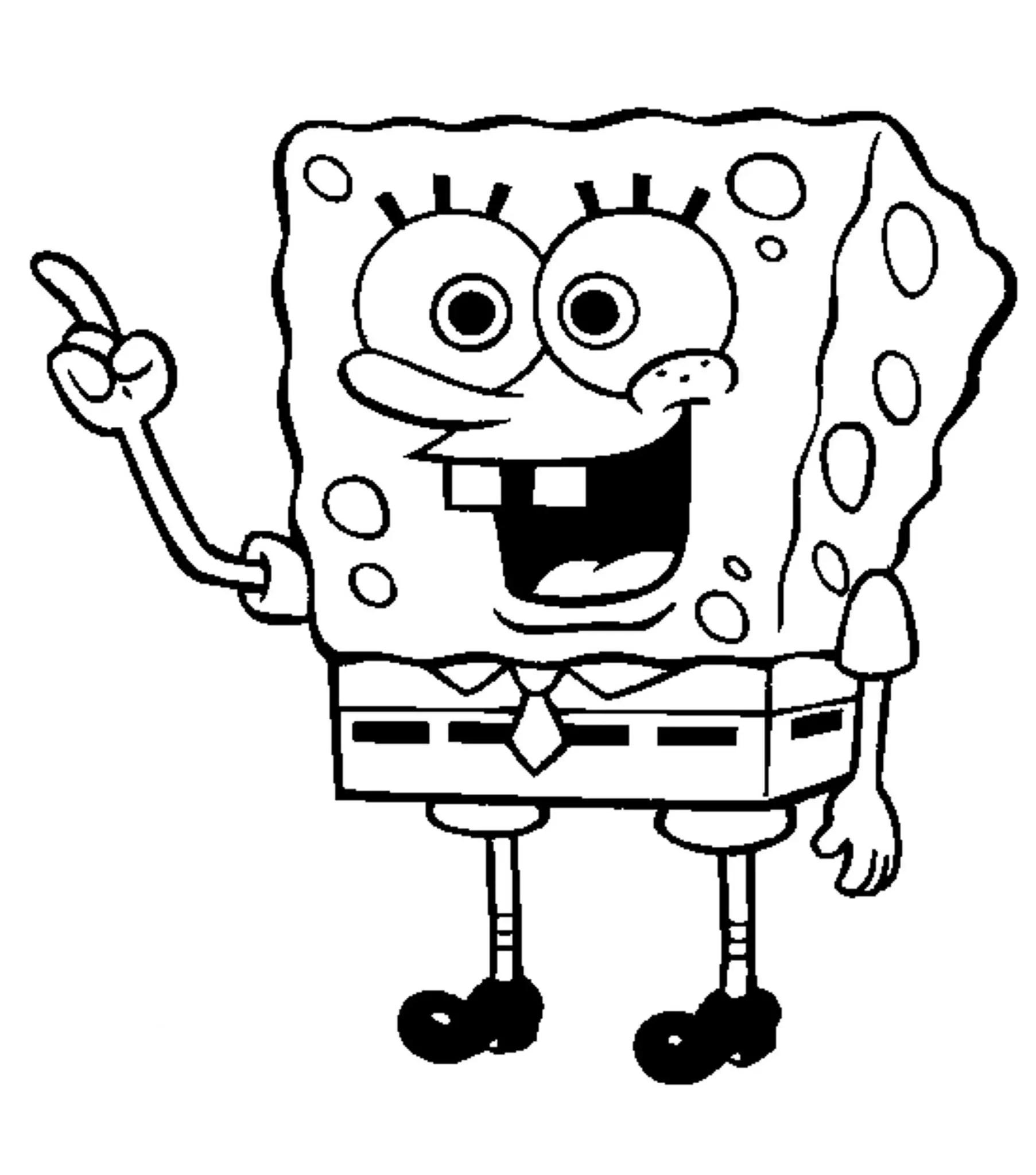 Print & Download   Choosing SpongeBob Coloring Pages For ...