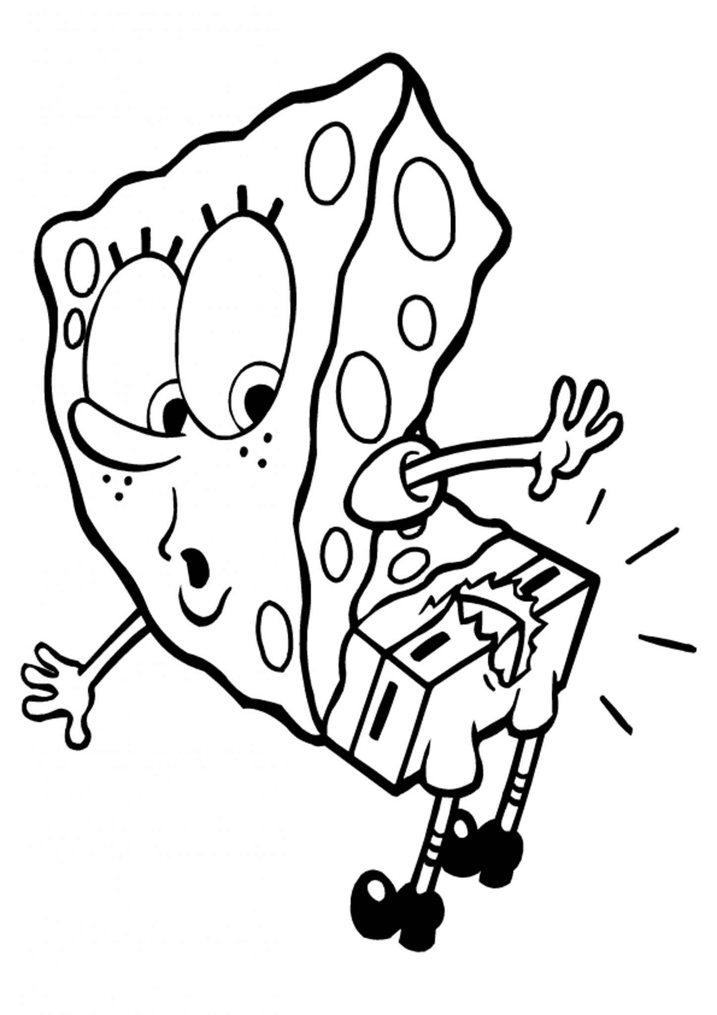 print download choosing spongebob coloring pages for your children