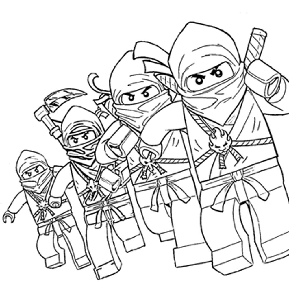 Create Your Own Lego Coloring Pages for Kids