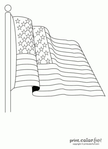 american-flag-ribbon-coloring-page