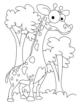 baby-giraffe-coloring-pages