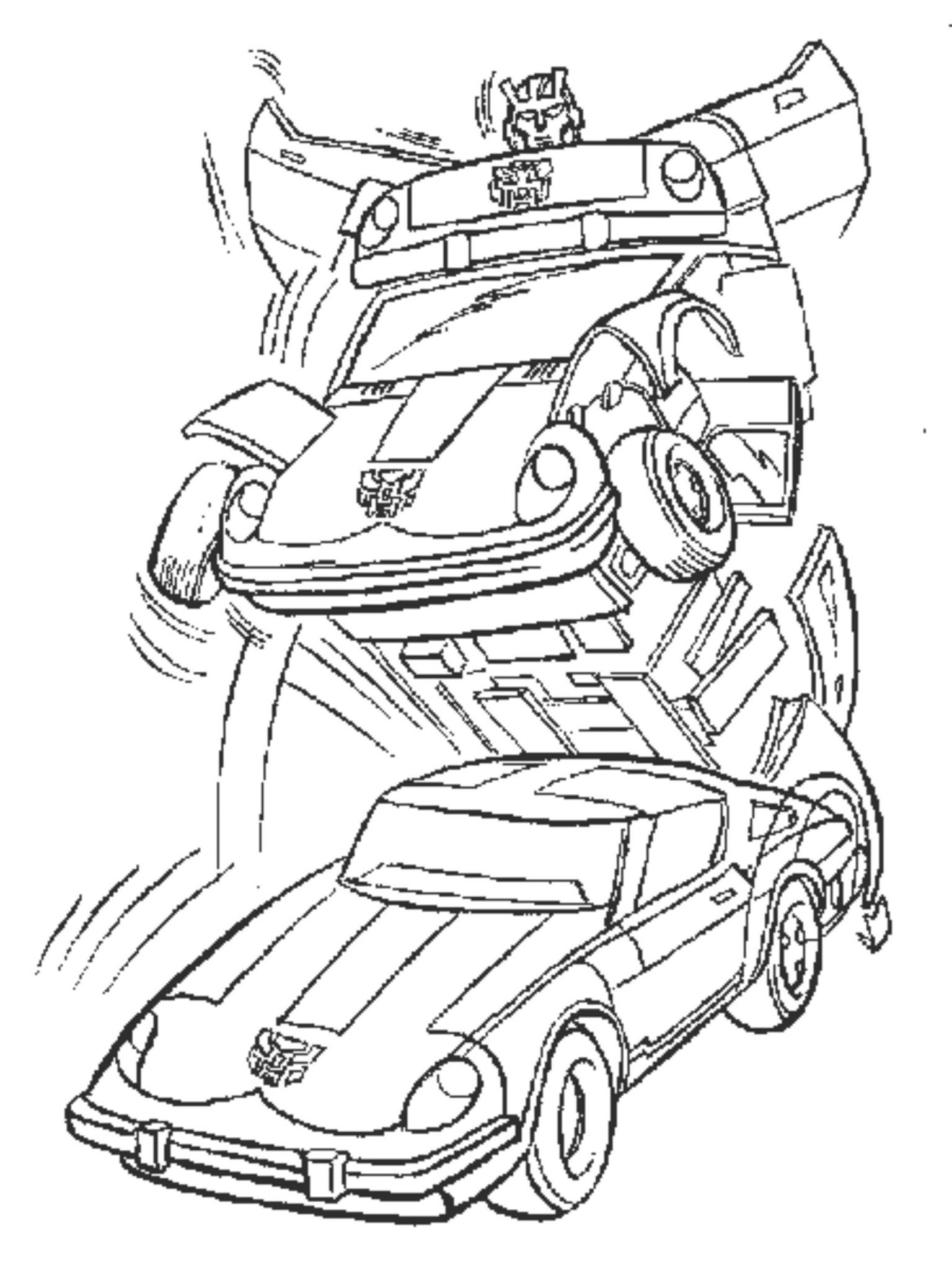 bumblebee-tranformers-car-coloring-pages-printable