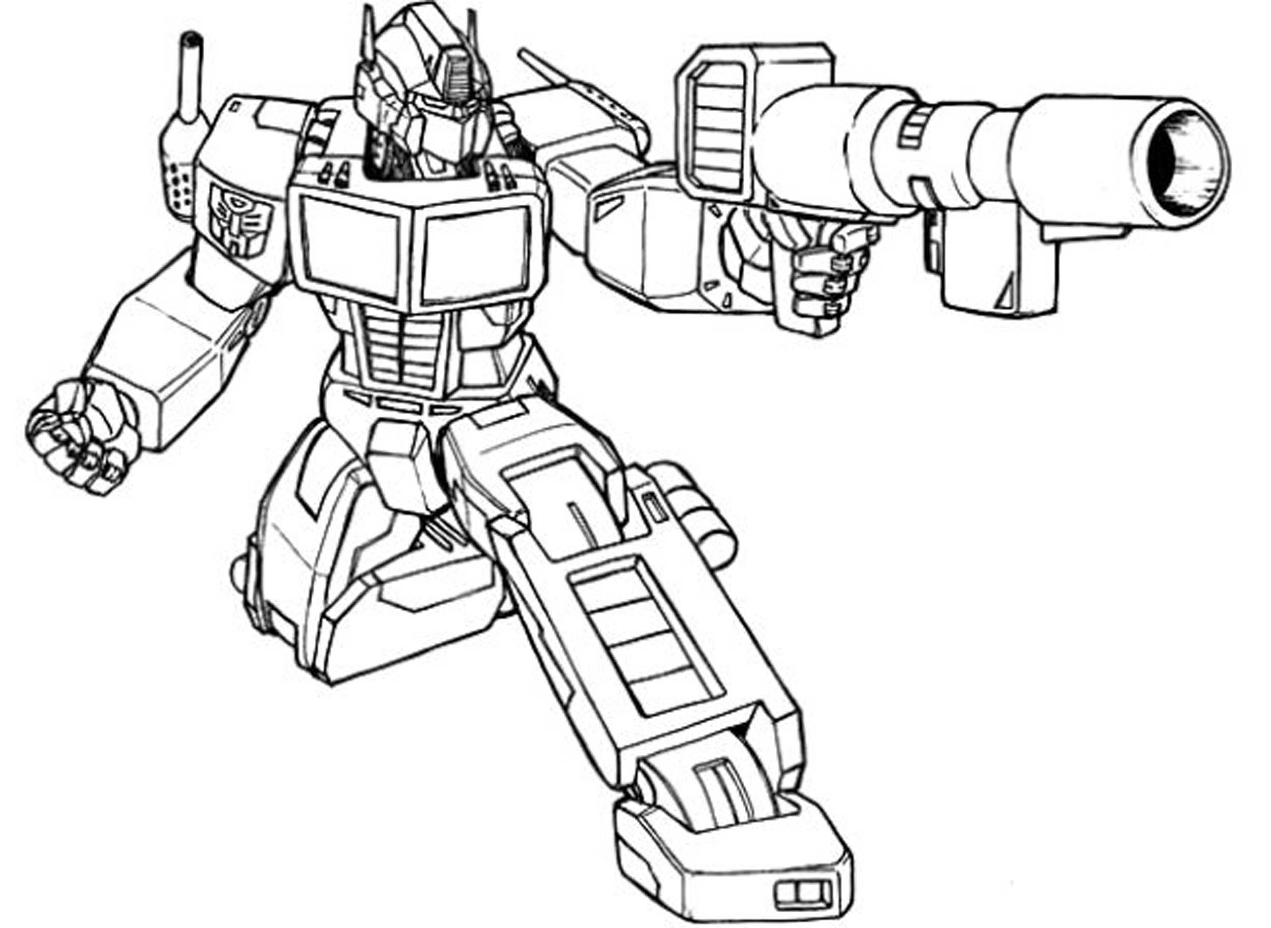 Bumblebee Transformer Coloring Pages Printable Collection Free