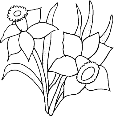 coloring-page-of-a-flower