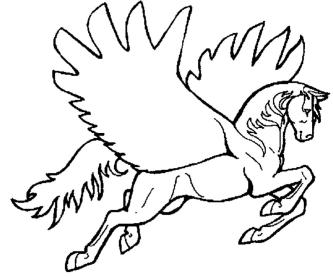 coloring-page-of-horse