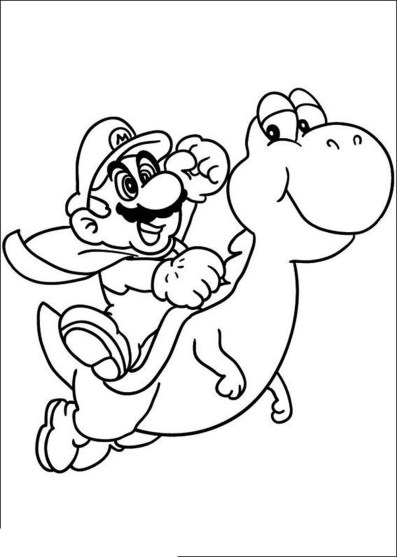 coloring-pages-of-mario