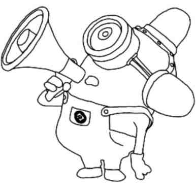 coloring-pages-simple-minions
