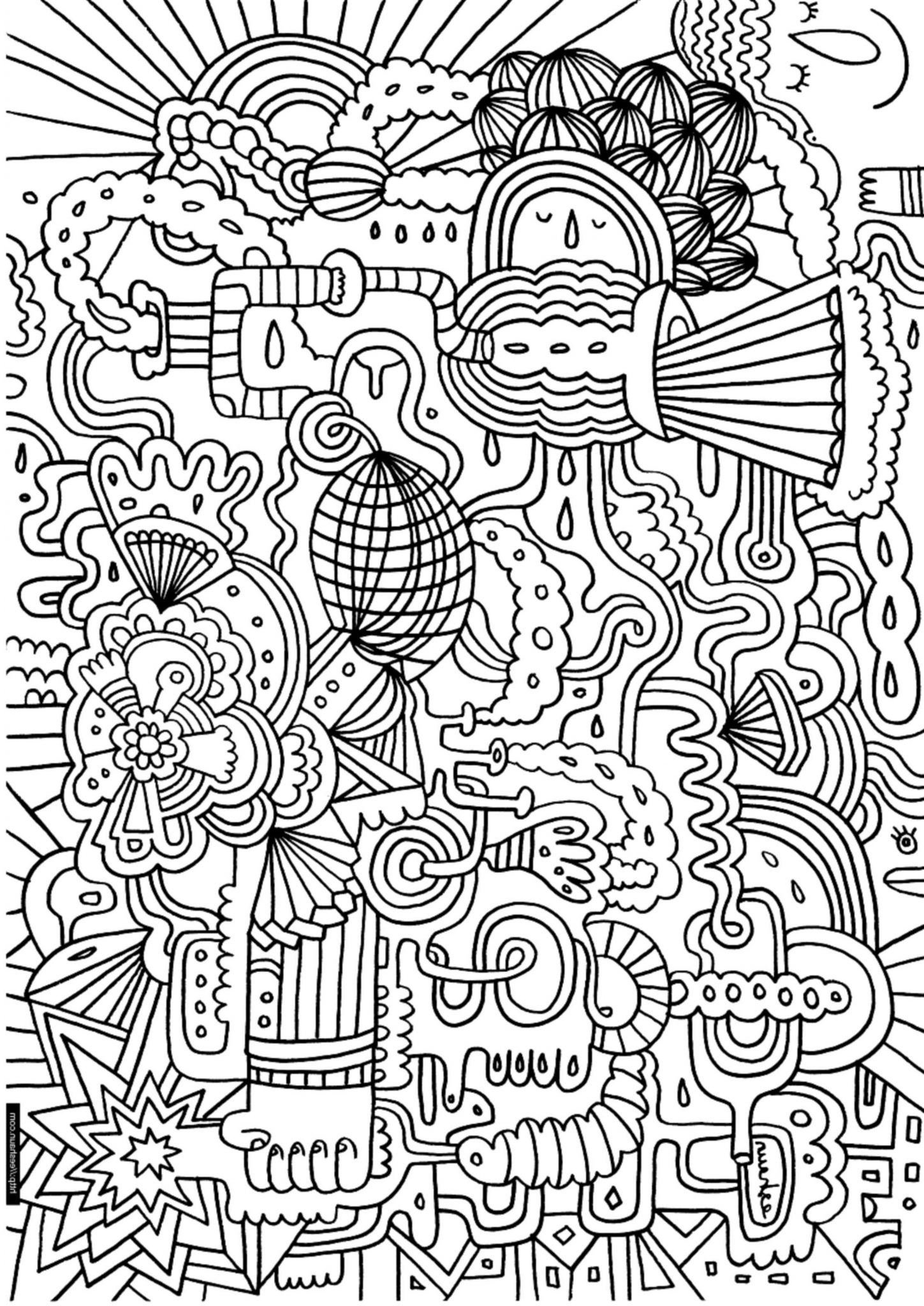 15 Don T Worry Be Happy Coloring Pages