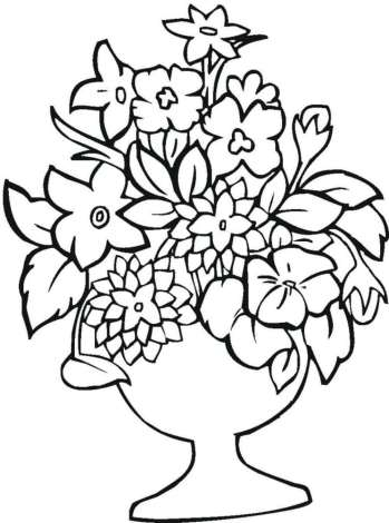 detailed-flower-coloring-pages
