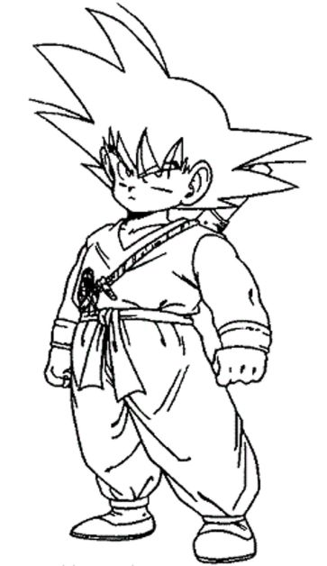 dragon-ball-z-coloring-pages-little-goku