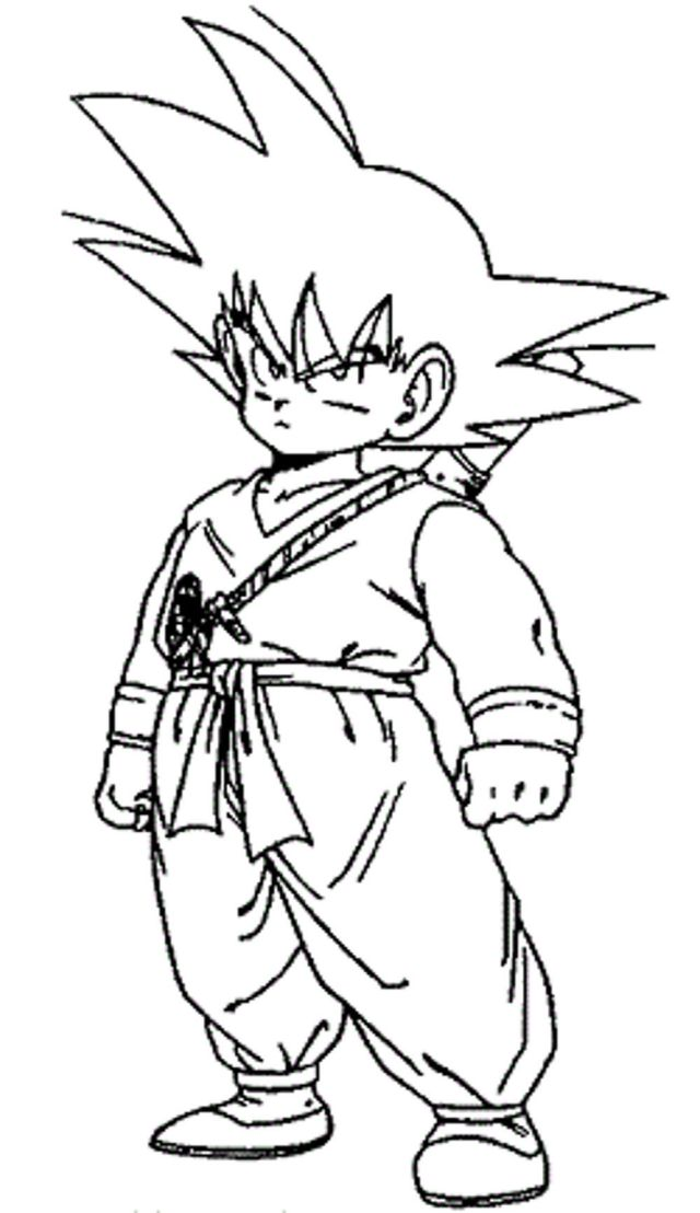 dragon-ball-z-coloring-pages-little-goku   BestAppsForKids.com