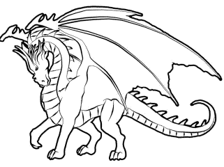 dragon-tales-coloring-pages