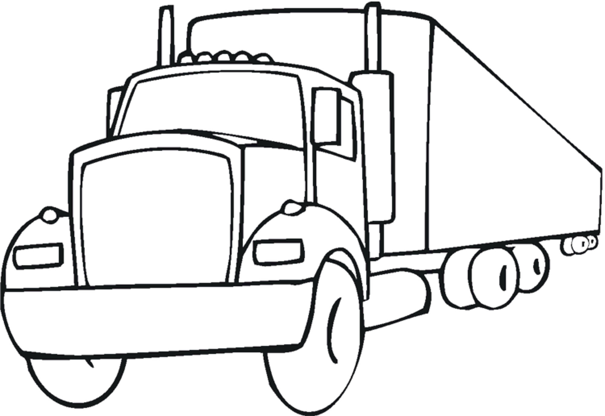 Print Download Educational Fire Truck Coloring Pages Giving