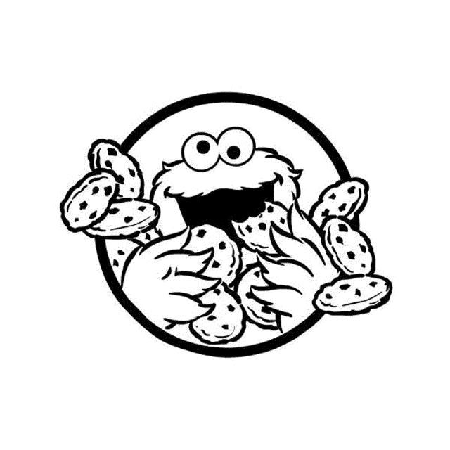 elmo-and-cookie-monster-coloring-pages   BestAppsForKids.com