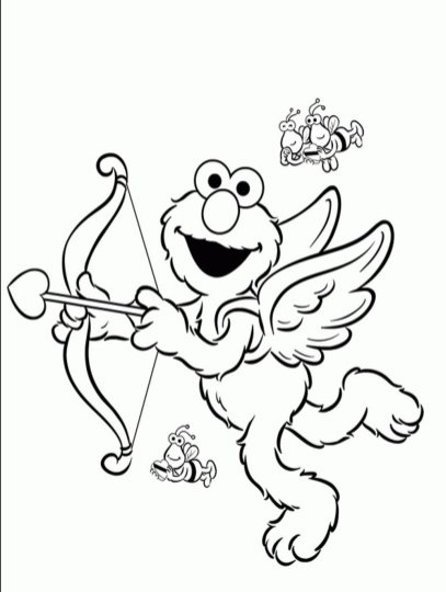 elmo-valentines-day-coloring-pages