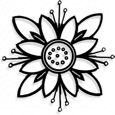 flower-coloring-pages-free
