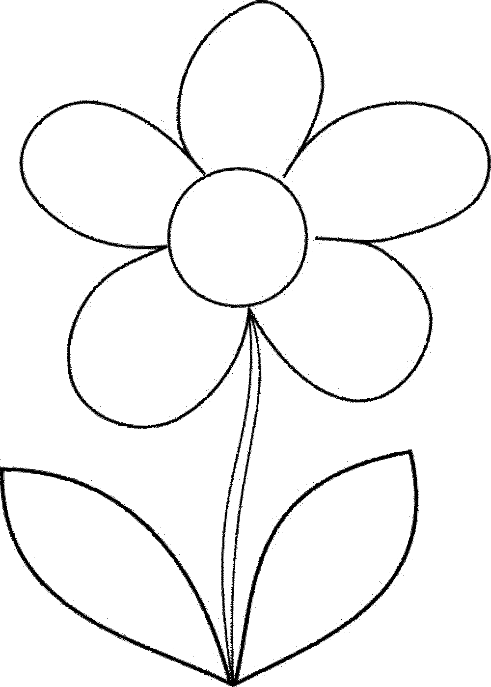 Flower Coloring Worksheets Kindergarten. Flower. Best Free
