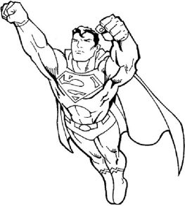 free-coloring-pages-for-boys-superman