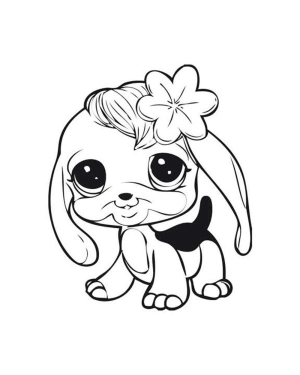 little pet shop coloring pages # 20