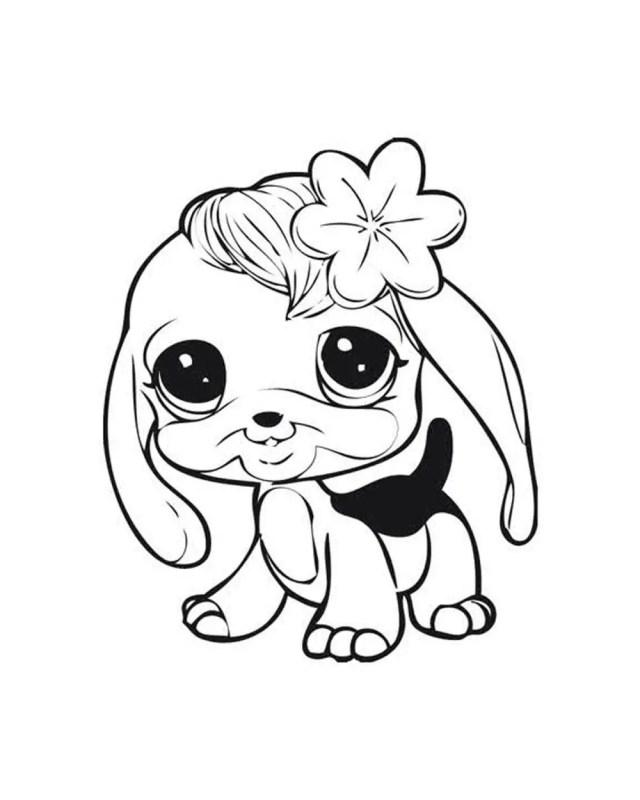 Littlest pet shop free printable coloring pages