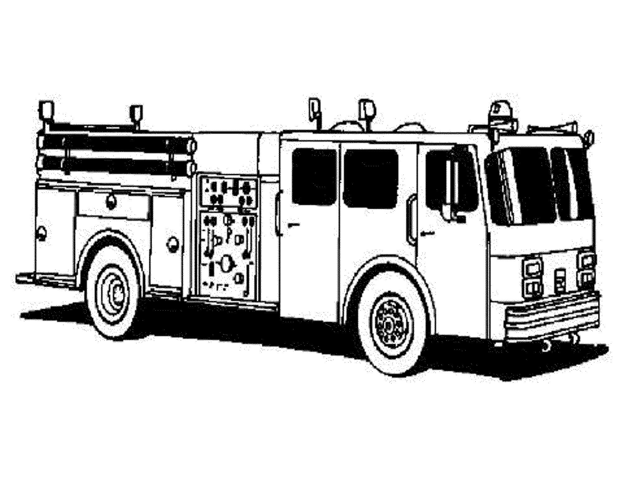 Free Printable Coloring Pages Of Fire Trucks