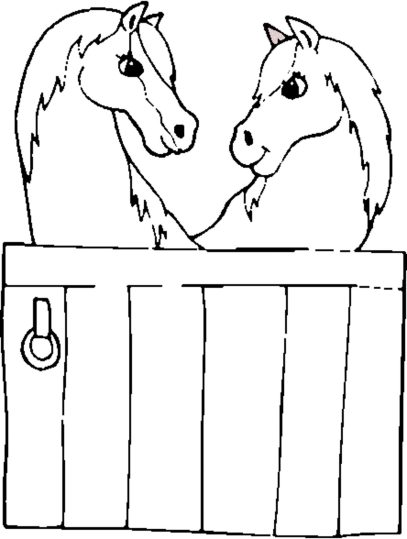 horses-coloring-page