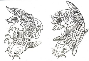 koi-fish-coloring-pages