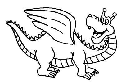 komodo-dragon-coloring-pages