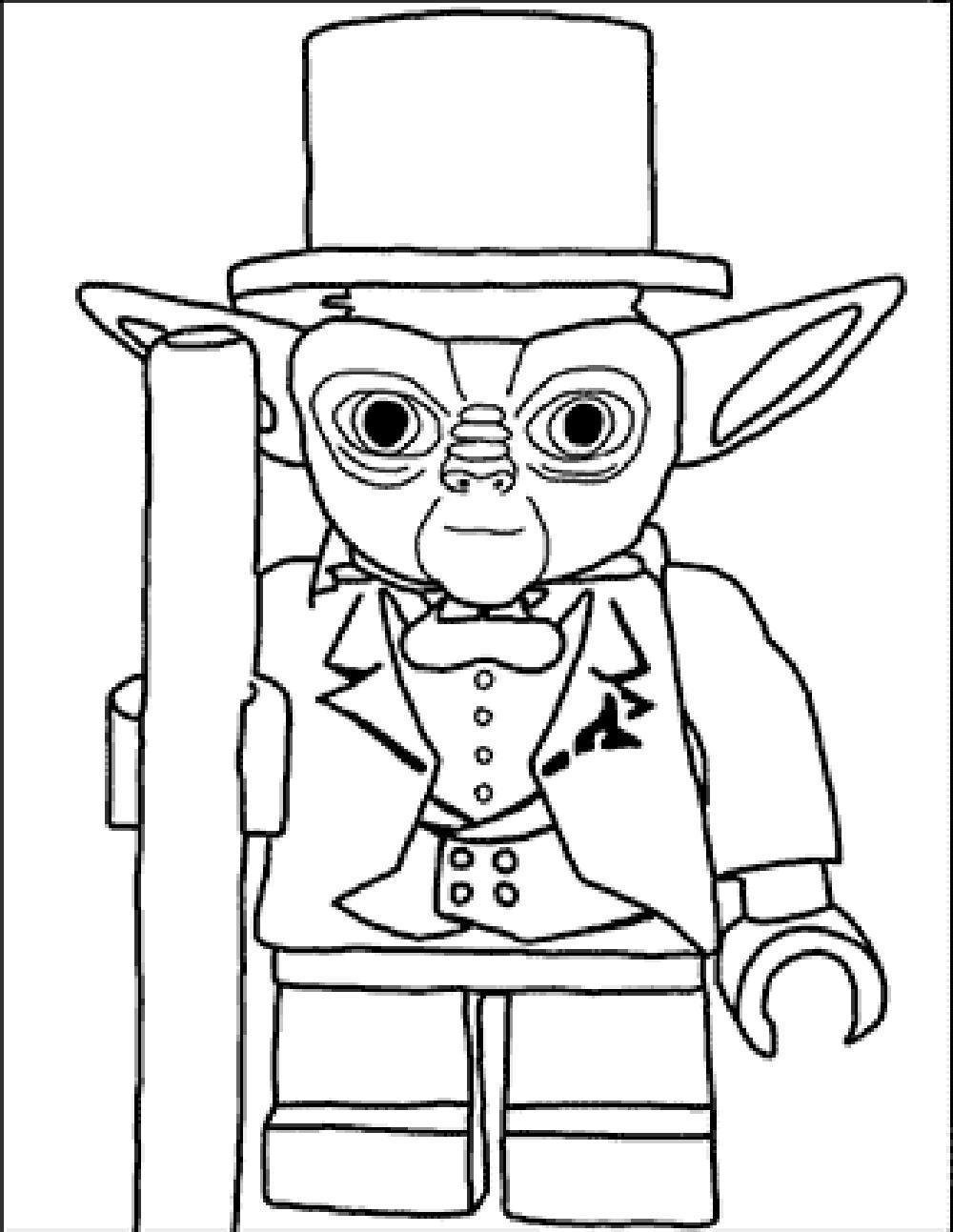 Lego Star Wars Clone Coloring Pages