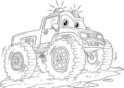 lightning-mcqueen-monster-truck-coloring-pages