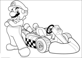 mario-kart-coloring-pages